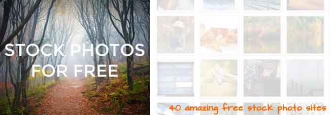 40 Sites with Amazing Free Stock Photos