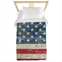 USA Duvet design example from Cafepress
