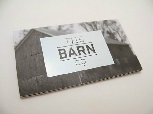 Flat design The Barn Co.