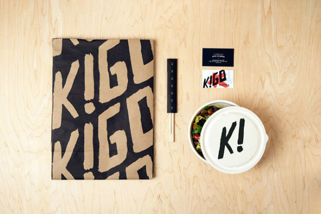 kigo packaging business card