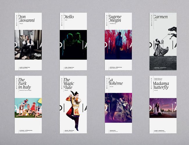 Unique Brochure Design Ideas Brochure Design Idea Opera