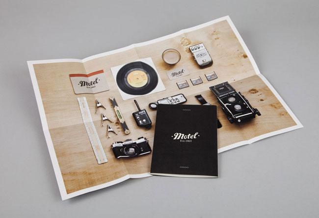 Brochure design ideas motel booklet