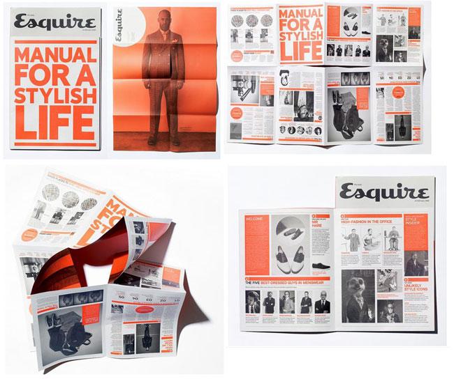 Brochure design ideas Esquire manual