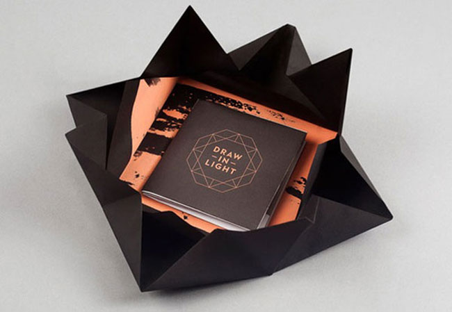 Brochure design ideas Draw in Light