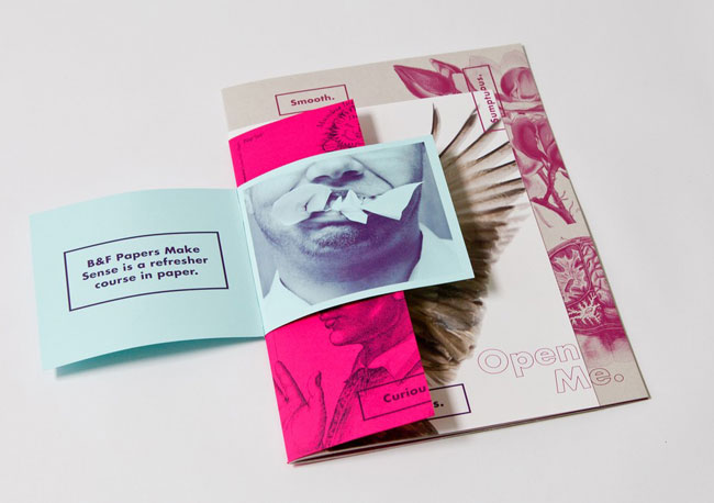 Brochure design ideas B&P Papers