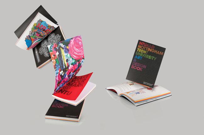 Brochure design ideas Nottingham Trent University