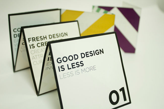 brochure design ideas good design manifesto