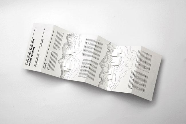 Brochure design International Festival Architectural Models