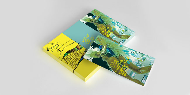 Brochure design ideas Escola Beija Flor