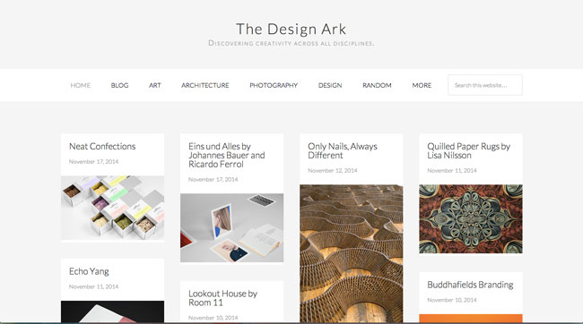 Graphic design blog Design Ark