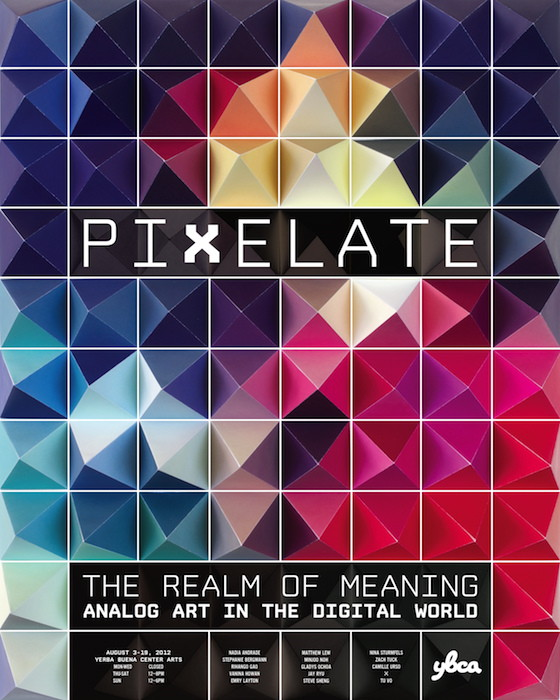 Pixelate poster by Matthew Lew