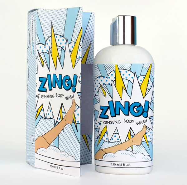 ZING packaging by Tiffany Matthews