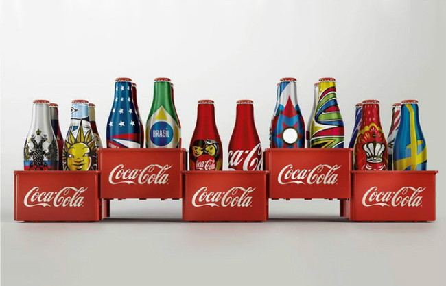 limited edition Coca Cola in Brazil