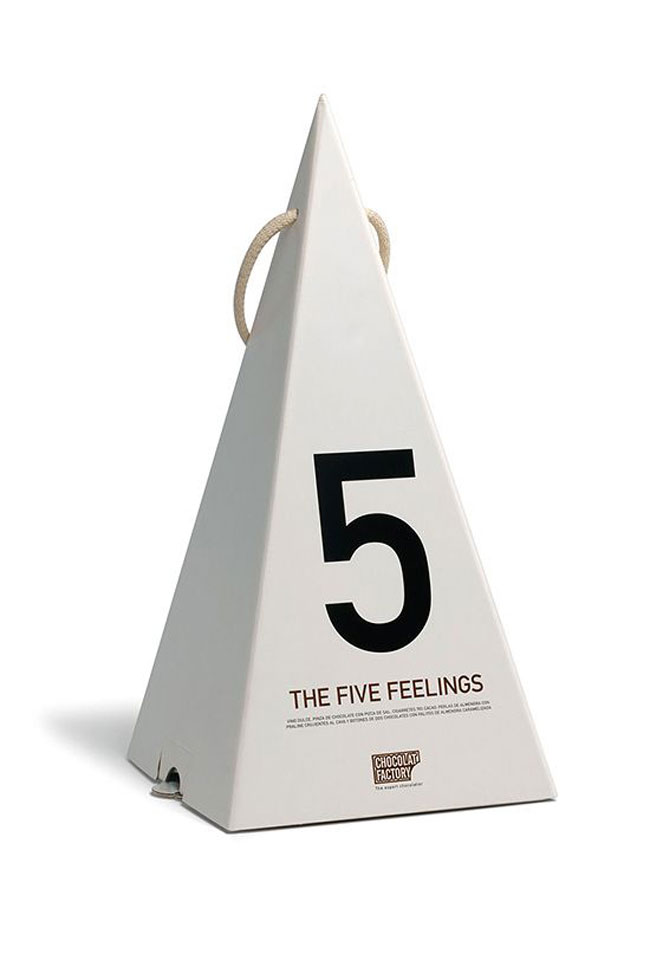 Good design Five Feelings Chocolat Factory