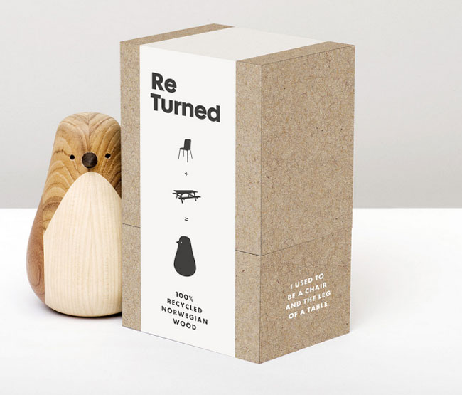 Good design ReTurned packaging