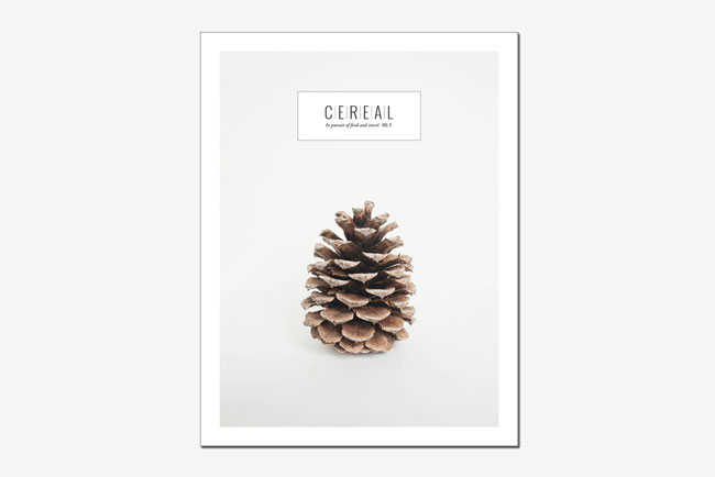 Good design Cereal Magazine cover