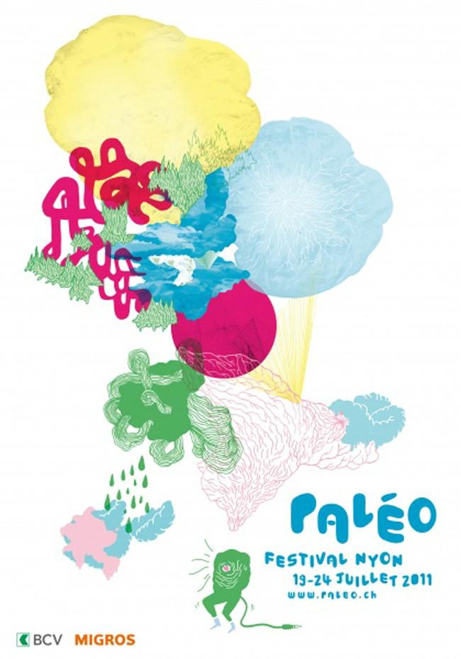 paleo nyon festival poster