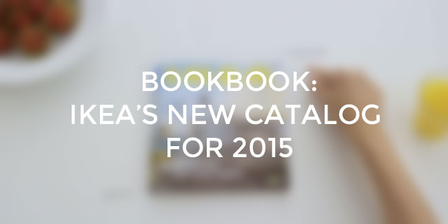 Print design news book book IKEA