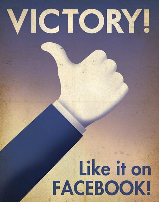 Facebook poster art