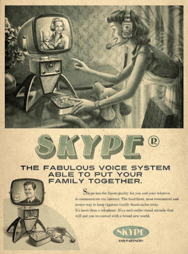 Skype Push to Speak Poster