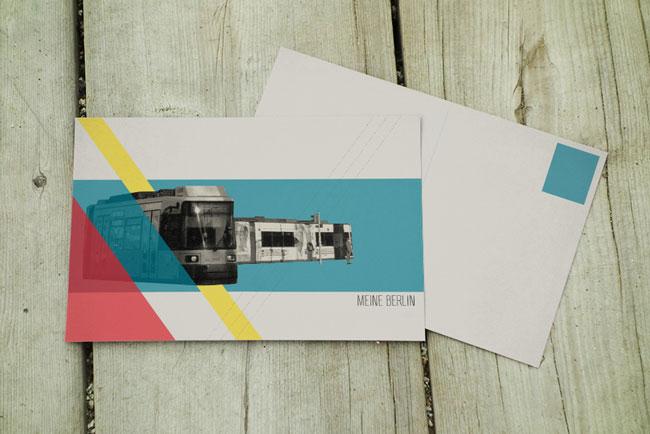 Travel postcards Berlin Louise Leake