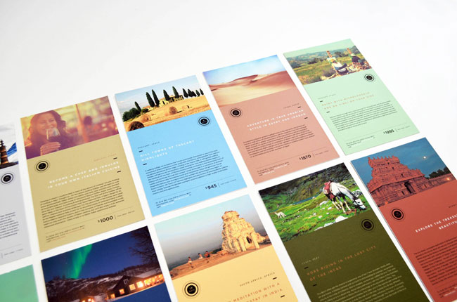 Travel postcards Astray Travel Co. Rebecca Alise Williams