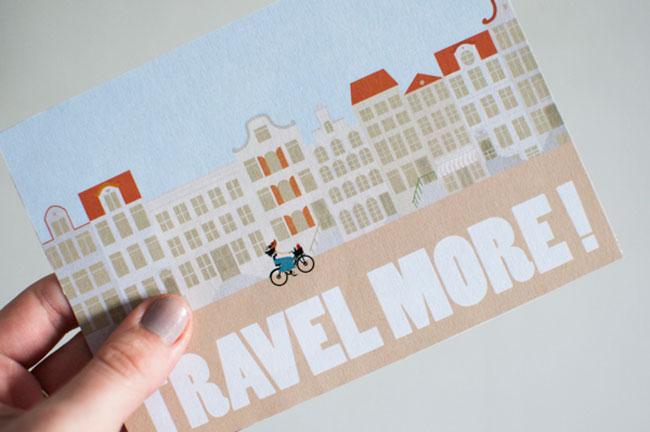 Travel postcards Gabriela Prattingerova