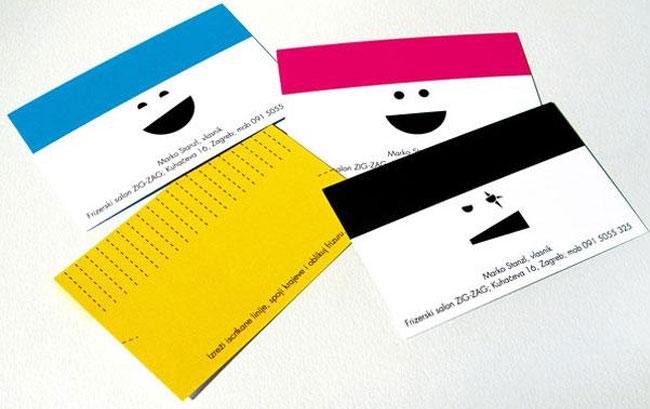 Hair Dresser Business Card