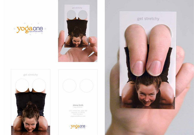 Yoga Trainer Business Card