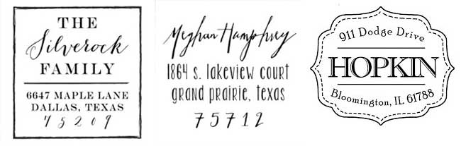 Tinyprints Scrawled Square Stamp offer
