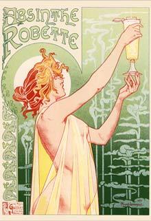 Vintage Poster Absinthe