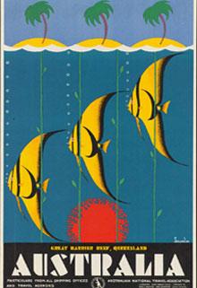 Australia barrier reef poster
