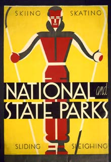 State Park Skating Poster