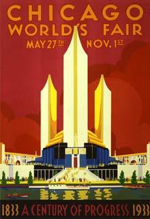 World fair Chicago poster