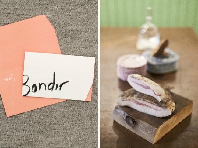 bondir business card