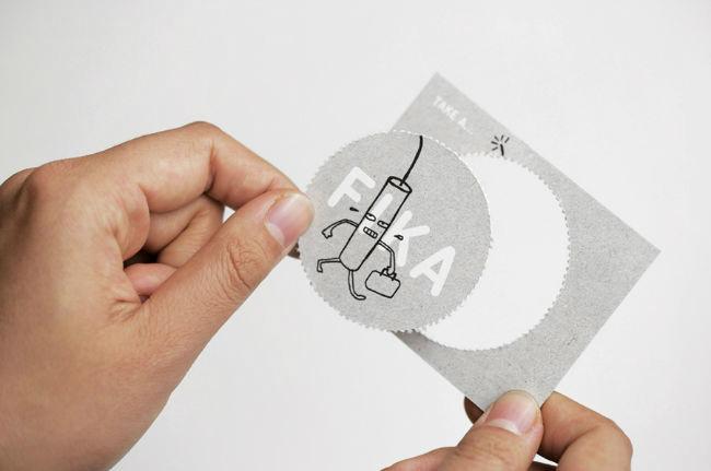 fika business card