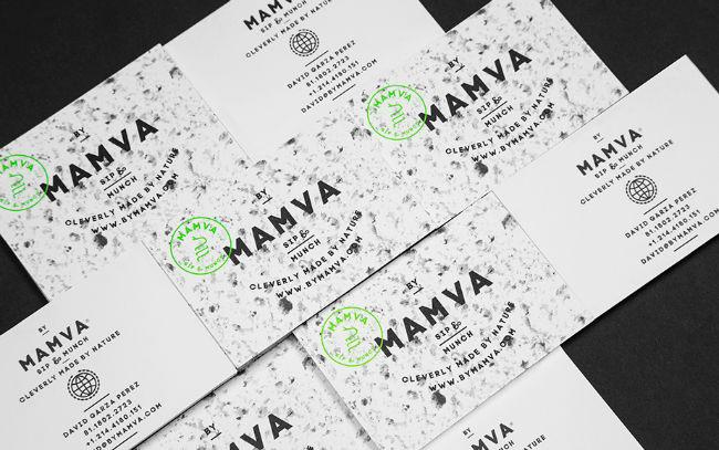 mamva business card