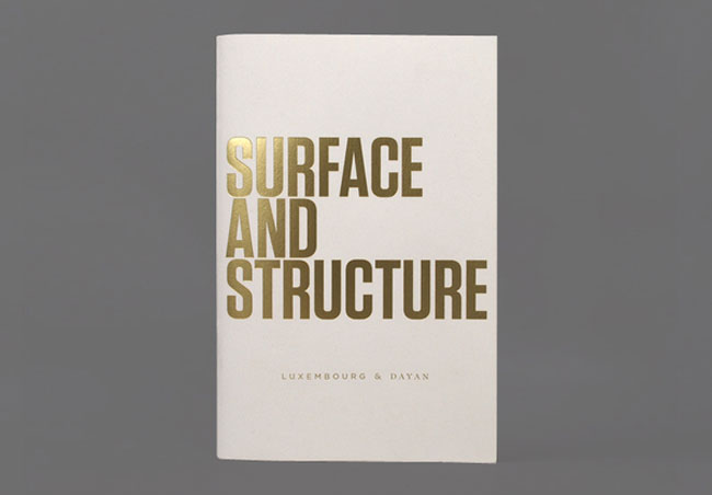 Spot UV catalogue Surface And Structure