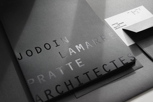 Spot UV collaterals Pratte Architectes
