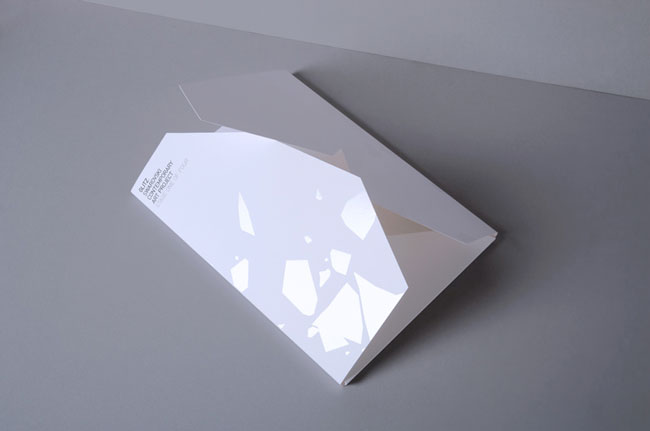 Spot UV flyer Glitz