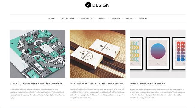Graphic design blog Abduzeedo