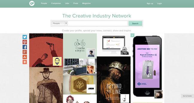 Graphic design blog Creative Pool