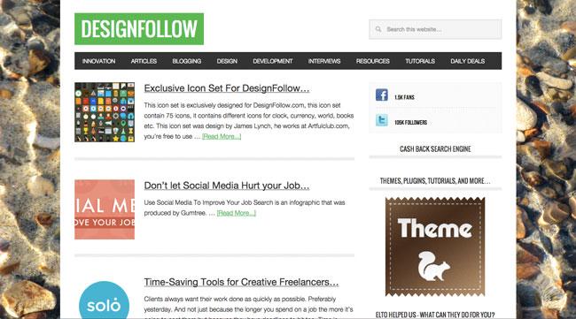 Graphic design blog Design Follow