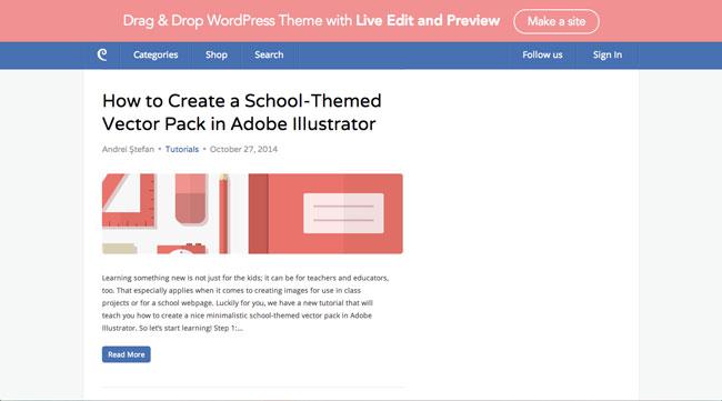 Graphic design blog Designmodo