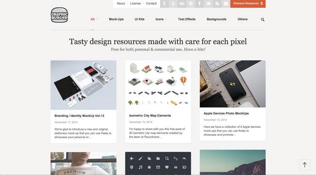 Graphic design blog Graphic Burger