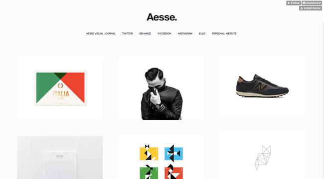Tumblr graphic design Aesse
