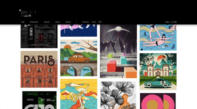 Tumblr graphic design Baubauhaus