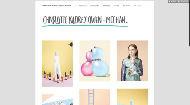 Tumblr graphic design Charlotte Audrey Owen-Meehan