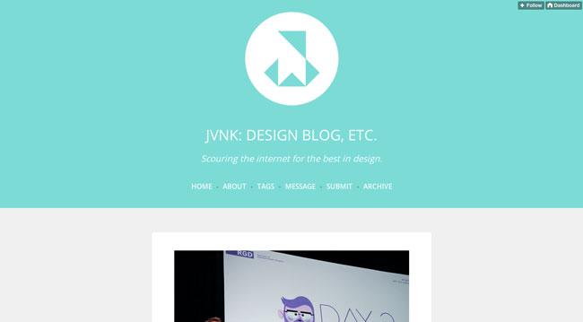 Tumblr graphic design JVNK