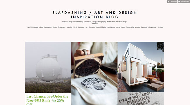 Tumblr graphic design Slapdashing